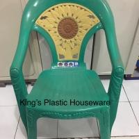 Kursi plastik napolly matahari 636