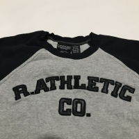Crewneck R ATHLETIC CO size M Abu-abu ORIGINAL