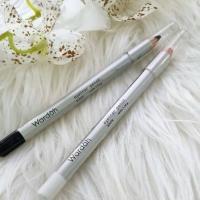Wardah Eyeliner Pencil Black / White 1.14 gr