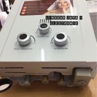 Water Heater Gas / Pemanas Air 6 Liter Domo DA 1006. Garansi Resmi 1 T