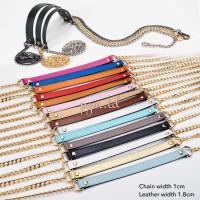 Bag's Strap chain tali tas rantai plain shoulder pad