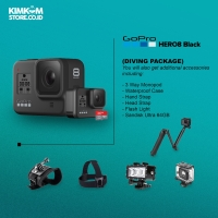 [PAKET DIVING] Kamera GoPro HERO 8 Black Edition - HERO8 Action Camera