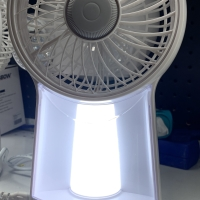 Krisbow Rechargeable Emergency Lamp with Fan
