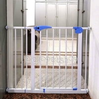 Pagar pembatas hewan / kandang pagar anjing kucing / pintu penghalang