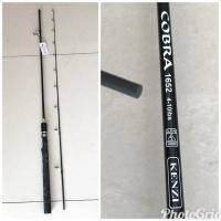 Joran Carbon Solid Ring Fuji 165 cm Kenzi Cobra 4-10 Lb