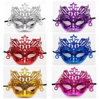 Glitter Mask Pesta Topeng Wajah Fashion Muka Masquerade Party Korea