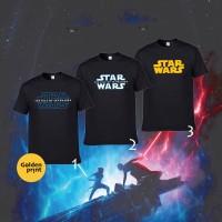 Kaos Star wars the rise of sky walker size dewasa / star wars tshirt