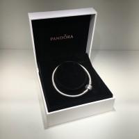 Gelang PANDORA Charm Bracelet - ukuran 17 original souvenir gift
