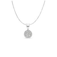 Liontin Berlian IMLPD871174 Swan Jewellery (exclude rantai)