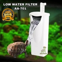 FILTER AIR IKAN KURA KURA AIR BRAZIL FROG FILTER AIR DANGKAL AQUARIUM