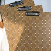 Papan ujian / Papan jalan / clipboard kayu harbot