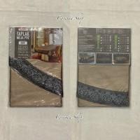 Taplak Meja Makan Plastik Bulat 03F - Size 152x152cm