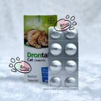 drontal cat per butir obat cacing kucing bayer