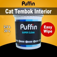 Cat tembok anti noda PUFFIN SUPER CLEAN 20L