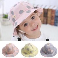 Topi bucket anak perempuan musim semi/ panas Baby Girl summer hat cap