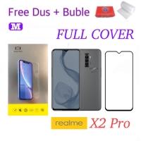 MAXFEEL Tempered Glass Realme X2 Pro FULL Cover Premium Glass
