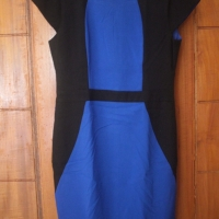The Executive Biru Hitam dress