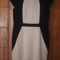 The Executive coklat hitam dress