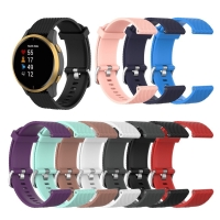 STRAP TALI JAM RUBBER SILIKON SILICONE RUBBER WATCH BAND GARMIN VENU