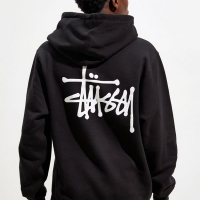 Stussy Basic Pigment Dyed Pullover Hoodie - FULL TAG