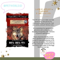 TimberWolf Legends Lamb Apples - Dog Food Makanan Anjing Hewan
