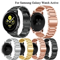 STRAP TALI JAM TANGAN SAMSUNG GALAXY ACTIVE 2 STAINLESS STEEL BAND