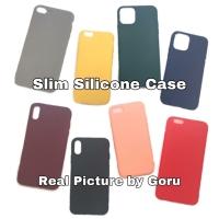 Silicone soft case Slim iphone X Xr Xs 11 11 Pro max 6 6s 7 8 plus