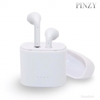 Headset Bluetooth PINZY I7s twins With charging case - putih