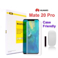 Maxfeel Premium Tempered Glass UV For Huawei Mate 20 pro