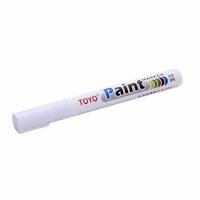 Spidol Ban Motor Mobil Toyo Paint Marker ORIGINAL Anti Luntur - PUTIH