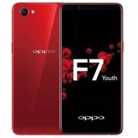 OPPO F7 YOUTH 4/64gb Black/Red GARANSI RESMI
