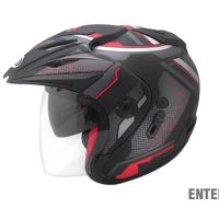 Helm SHEL double visor
