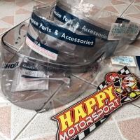 Visor kaca helm khusus Shoei Neotec 1 light smoke made in Japan