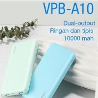 Power Bank Powerbank Vivan VPB-A10 10000mAH 2.4A Dual Port USB