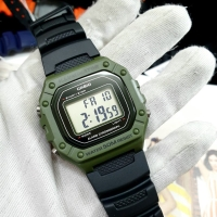 Jam Tangan Original Casio Digital Illuminator camo green