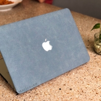 Macbook pro 16 touchbar Inch Cover Hard Case casing Skin SUEDE BULU