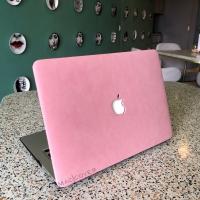 Macbook AIR 11 Inch Cover Hard soft Case casing Skin SUEDE BULU