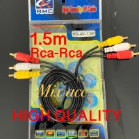 Kabel Rca to Rca 1.5m / Kabel AV VIDEO 1.5m / Audio 3-3 High Quality