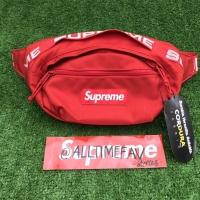 Supreme Waist bag waistbag SS18 red BNWT original