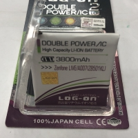 Baterai Battery Double Power LOG-ON Asus Zenfone LIVE/A007(ZB501KL)