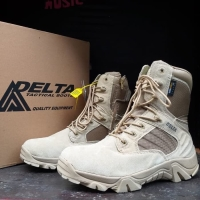 [GRATIS] Sepatu Delta 8 Inci Tactical Boots Gurun/Hitam