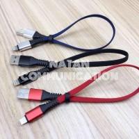 KABEL POWERBANK IPHONE X XS MAX 8 7 6 / TIPE C / MICRO USB 30 CM POWER