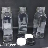 (Selain gojek) Botol kale Kotak 250ml / kale katok 250ml / pet 250 ml