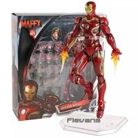 Action Figure Avengers Infinity War Iron Man Mark 45 MAFEX