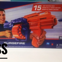 Mainan tembak tembakan anak Nerf elite N-strike Surgefire original