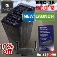 PANDA ERC-38 Printer Dotmatrix Ribbon/Pita/Cartridge for EPSON (10PCS)