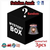 PROMO MYSTERY BOX Setelan fashion baju Anak laki campur RANDOM min3pc