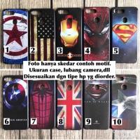 Softcase man case vivo Y91 marvel avenger superheroes captain iron usa