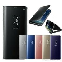 Case Flip Mirror Clear View Super Slim Asus Zenfone Max Pro M2 ZB631KL
