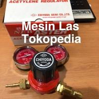 Regulator Chiyoda Acetylene Original Japan